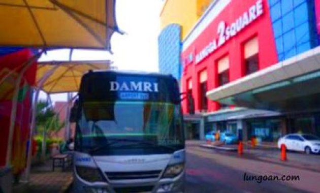 Jadwal Bus Damri Bandara Soekarno Hatta Ke Mangga Dua Lungoan