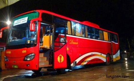 Jadwal Keberangkatan Bus Damri Bogor Jogja Lungoan